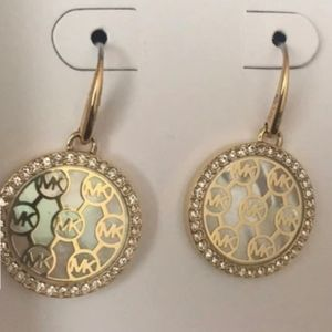 NWOT MICHAEL KORS EARRINGS